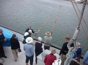 Lesson in Tuna Poling