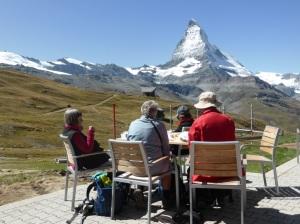 Coffee break Matterhorn view