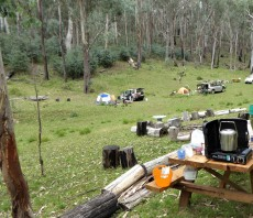 our one bush camp